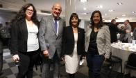 Costanza Bottazzi, Mario Albarracín, Teresa Aishemberg, Gabriela Castro.
