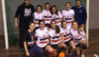 Huracán Buceo fue campeón del Campeonato Apertura de Handball 2017 de categoría Menores.
