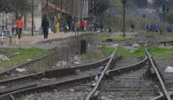La velocidad promedio del nuevo tren será de 80 kilómetros por hora, hoy es de 20. Foto: A. Colmegna