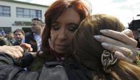 En la mesa donde votó Cristina, el oficialismo perdió por 44 votos. Foto:  AFP