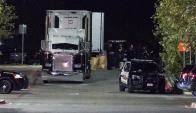 Hallados 8 muertos y 20 heridos dentro de un camión en Texas. Foto: EFE