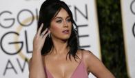Katy Perry en los Globos de Oro. Foto: Reuters