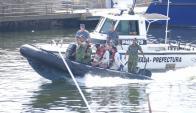 Más rescates en la Mansa por cambios en el fondo marino. Foto: Ricardo Figueredo