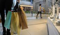 Compras: en casi todos los rubros aumentaron en las fiestas. Foto: F. Ponzetto
