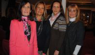 Mercedes, María Clara, María Lucía y María Victoria Cibils.