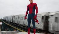 Estreno. La nueva aventura de Spider-man se estrenó este fin de semana en Uruguay.