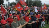 Los sindicatos llevarán a cabo un acto frente a las oficinas de la Torre Ejecutiva. Foto: A. Colmegna