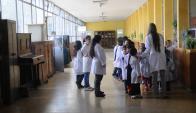 Van 18 paros de maestros en las escuelas públicas de Montevideo.