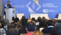 """Andrade pidió no asociar la siniestralidad con el trabajo al """"azar"""". Foto: F. Flores"""