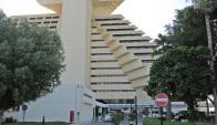 El Sheraton, primer hotel de lujo que tuvo Doha, es considerado un icono. Foto. Flickr