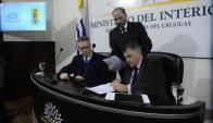 El gobierno se reunió con la AUF para monitorear implementación de medidas. Foto: G. Pérez