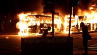 El 28 de abril hubo manifestaciones violentas en Río de Janeiro y otras ciudades. Foto: Reuters