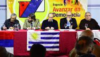 El Frente Izquierda de Liberación celebró anoche sus 55 años de vida. Foto: G. Pérez
