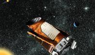 Composición artística del telescopio Kepler. Foto: Reuters