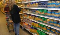 Góndola de supermercado. Foto: Archivo El País