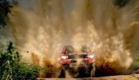 Nasser Al Attiyah, el ganador de la primera etapa del Rally Dakar. Foto: prensa Al Attiyah