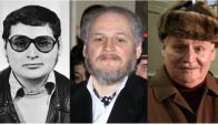 Carlos en 1970, en 2001 y en la actualidad. Fotos: AFP.