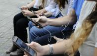 """""""Los millennials piensan en términos de apps"""", dice Balaguer. Foto: D. Borrelli."""