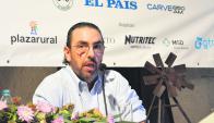 Marcelo Secco: en el mundo hay cosas que no se discuten. Foto: Guillermo Crampet