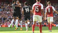 Sevilla venció al Arsenal por 2-1 como visitante. Foto: EFE