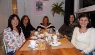 Magdalena Hughes, Verónica Bia, Claudia Vilardo, Rosanna Bia, Selene Cheroni.