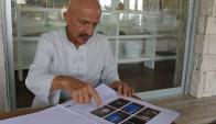 En La Barra, Reza Deghati enseña las fotos que recorrieron las portadas del mundo. Foto: Ricardo Figueredo