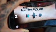 Tatuajes que se escuchan. Foto: captura de YouTube
