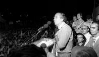 Wilson Ferreira Aldunate, un líder nacional indiscutible. Foto: archivo El País