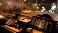 """Los taxis de la radio de Patronal retomaron la """"Cero Ficha"""". Foto: Archivo El País"""