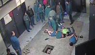 A medidos de 2015, varios menores intentaron armar una fuga. Foto: captura video