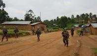 Ejército uruguayo libró combates en el Congo. Foto: .ejercito.mil.uy