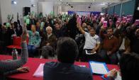 El próximo 26 de marzo, el FA celebra la realización de su primer acto de masas. Foto: F. Ponzetto