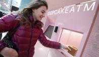 Prinkles. Sorprendió en Nueva York con sus cajeros automáticos de cupcakes. Foto: Reuters.