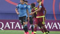 Agustín Canobbio se destacó al realizar un muy buen Mundial. Foto: @Uruguay