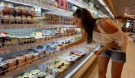 Los uruguayos son de los mayores consumidores de lácteos. Foto: AFP