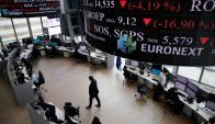 Fue una jornada negativa para los mercados mundiales. Foto: AFP