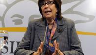 Ministra de Desarrollo Social Marina Arismendi. Foto: Presidencia