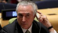 Michel Temer en la ONU. Foto: Reuters.
