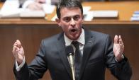 El primer ministro de Francia, Manuel Valls. Foto: EFE