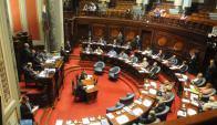 La sesión del Senado del martes será decisiva para saber si se votan todas las venias. Foto: F. Flores