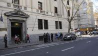 Sede del Ministerio de Economía. Foto: Archivo El País