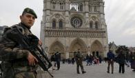 París, Bruselas, Viena, Nueva York y Los Ángeles están bajo alerta. Foto: Reuters.