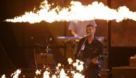 Juanes en su actuación en los Grammy. Foto: Reuters