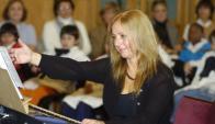 Cristina García Banegas fundó el Festival en 1986 y en esta edición también tocará.Darwin Borrelli