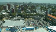 El desarrollo de Punta Carretas redundó en mayor cantidad de autos en calles. Foto: F. Ponzetto