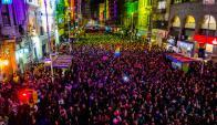 Marcha por la Diversidad 2016. Foto: Intendencia de Montevideo