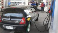Los estacioneros reclaman ajustar la paramétrica que fija precios. foto: F. Flores