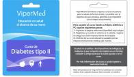Instructivo. Las tarjetas vienen con las indicaciones para que el usuario ingrese a la página de ViperMed y pueda activar el curso online. (Imagen cortesía de ViperMed)