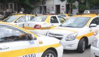 Apenas conocido el procesamiento de un taximetrista, el Suatt convoco a un paro. Foto: A. Martínez