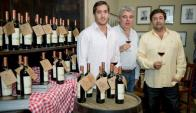 Nino Deicas, Leandro Añon y Fernando Deicas.